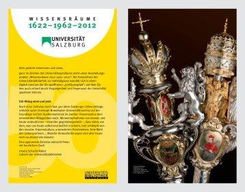 wissensr ä ume 1622–1962–2012 - Universitätsbibliothek ...