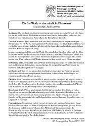 4 | Die Sal-Weide - Bund Naturschutz in Bayern e.V. Kreisgruppe ...
