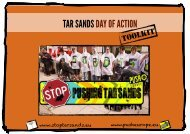 Tar Sands Action Toolkit Draft-3-MC2 - Push Europe