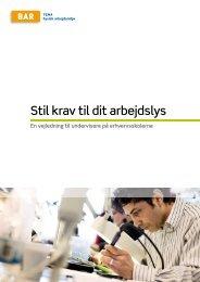 Stil krav til dit arbejdslys - Arbejdsmiljoweb.dk