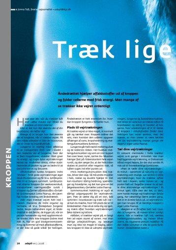 Læs artiklen i pdf format her - Den Intelligente Krop