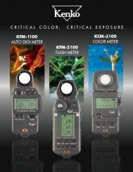 Kenko Meter Catalog PDF Format - THK Photo Products, Inc.