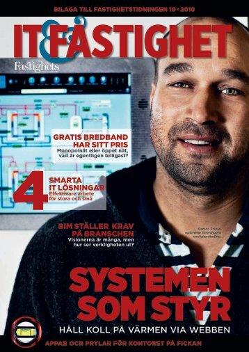IT & Fastigheter 2010 - Fastighetstidningen
