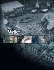 Download Weller Catalog - Cooper Hand Tools