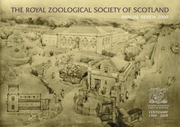 THE ROYAL ZOOLOGICAL SOCIETY OF SCOTLAND - Edinburgh Zoo