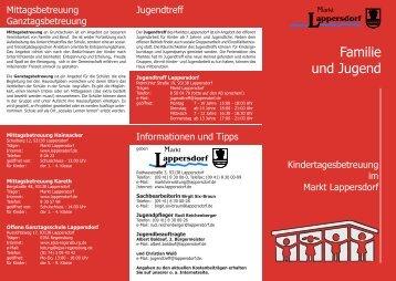 Familie und Jugend - Markt Lappersdorf