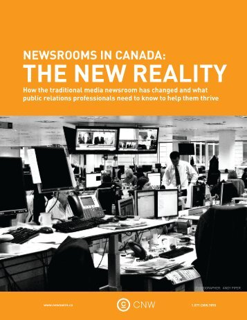 Newsrooms in Canada - Canadian Writers Group