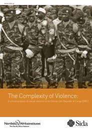 The Complexity of Violence: - DiVA