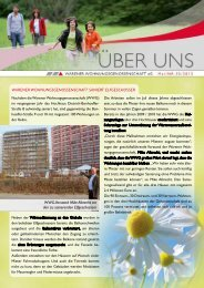 Aktuelle Ausgabe - Warener Wohnungsgenossenschaft eG