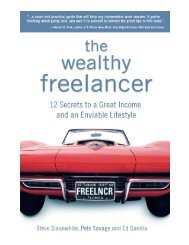 3 Free Chapters.indd - The Wealthy Freelancer