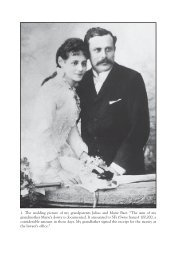 1. The wedding picture of my grandparents Julius and Marie Baer ...