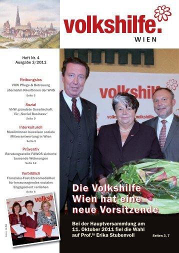 VHW 3_11 Seiten 1-8_VHW 1-8.qxd - bei der Volkshilfe Wien