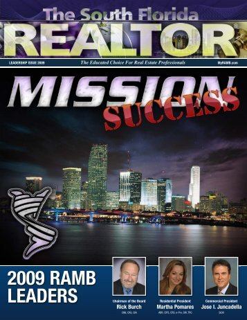 South Florida REALTOR® Leadership Issue - Miami Realtors