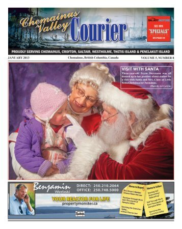 Master Template - Chemainus Valley Courier