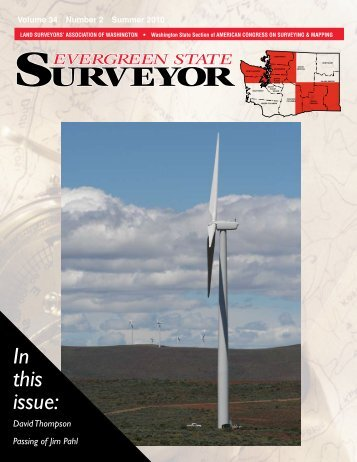 Surveyor - Land Surveyors' Association of Washington (LSAW)
