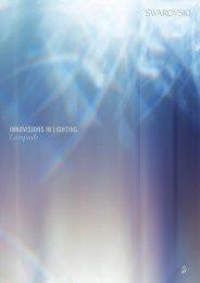 INNOVISIONS IN LIGHTING Lampade - Swarovski