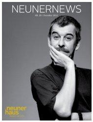 neunernews Nr. 20, Dezember 2012 - neunerHAUS