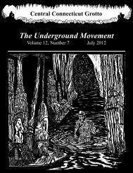 July 2012 - National Speleological Society