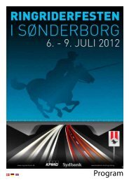 Program - Ringriderfesten i Sønderborg