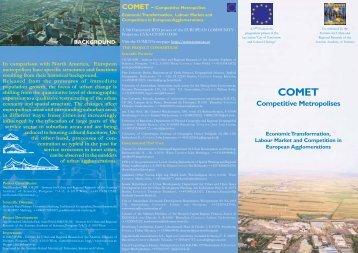 COMET - Competitive Metropolises
