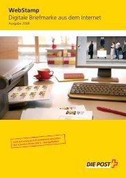 WebStamp Digitale Briefmarke aus dem Internet - Borsari + Meier AG