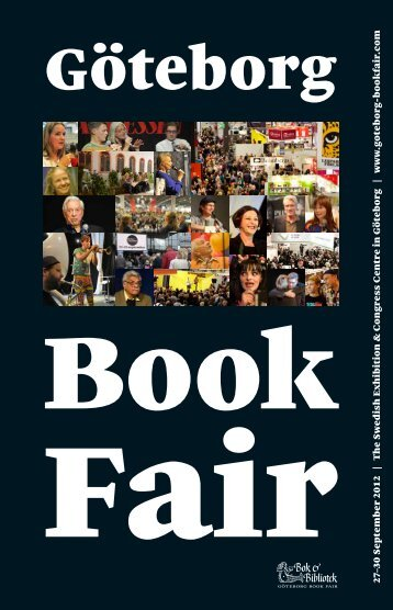 27–30 September 2012 | The Swedish Exhibition ... - Bok & Bibliotek