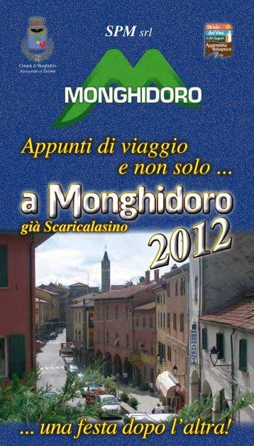 a Monghidoro a Monghidoro - Comune di Monghidoro