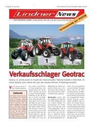 Verkaufsschlager Geotrac Verkaufsschlager Geotrac - Lindner