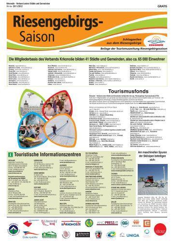 Tourismusfonds Touristische Informationszentren - Krkonose.eu