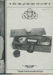 Objektiv nummer 25 1982 - Dansk Fotohistorisk Selskab