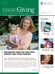 4 6 Inside: - North Shore Medical Center - Partners HealthCare