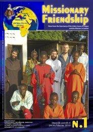 MISSIONE 1-2010 inglese - Amicizia Missionaria