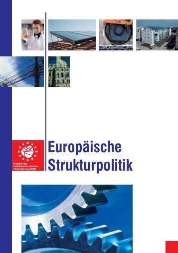 Europäische Strukturpolitik für Brandenburg - Glante, Norbert
