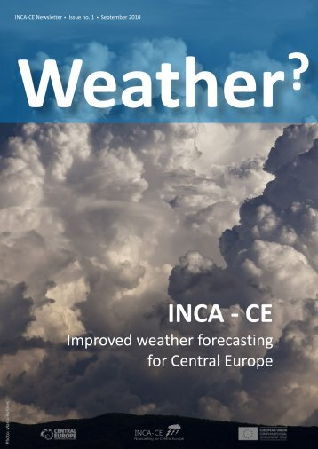 INCA-CE Newsletter 1