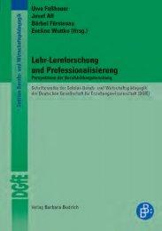 Lehr-Lernforschung und Professionalisierung - Budrich