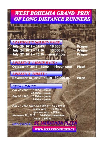 west bohemia grand prix of long distance runners - SC Marathon ...