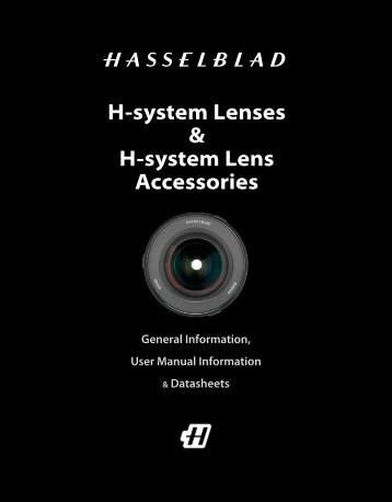 H-system Lenses & H-system Lens Accessories - Hasselblad