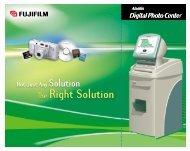 Aladdin Digital Photo Center Brochure - Fujifilm USA