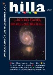Der Weltraum, unendliche Weiten - Hilla Magazin