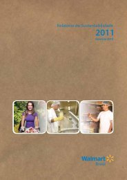 Relatório Walmart 2010/PDF-6.169Kb - Agenda Sustentável