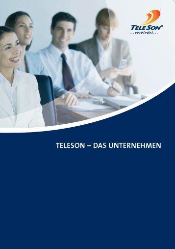 TELESON – DAS UNTERNEHMEN - TeleSon Vertriebs GmbH