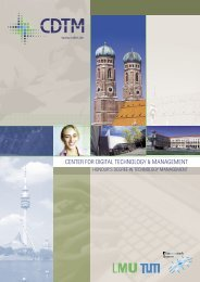 CDTM brochure (English) - CDTM Center for digital technology and ...