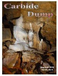 Aug/Sept 2012 Dump - Blue Ridge Grotto