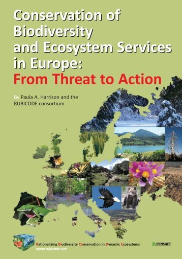 Conservation of Biodiversity and Ecosystem Services in ... - Rubicode