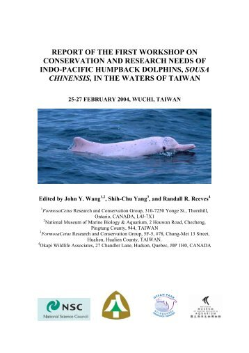 Report of the First Workshop on the Conservation and - IUCN SSC ...