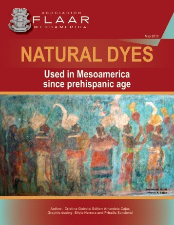 Natural dyes - Maya Archaeology