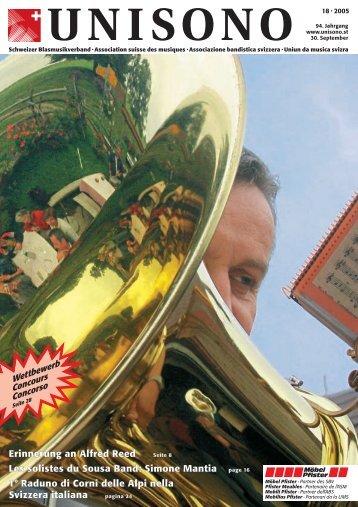 Erinnerung an Alfred Reed Les solistes du Sousa Band: Simone ...