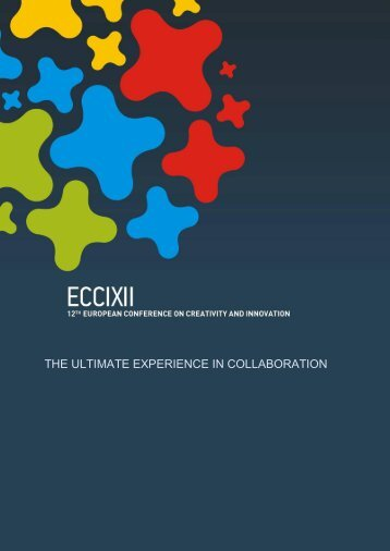 table of contents - European Association for Creativity and Innovation
