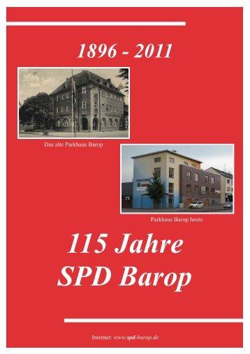 Festschrift Barop 2011 - SPD Ortsverein Dortmund-Barop