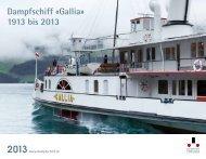 Dampfschiff «Gallia - Dampferfreunde Vierwaldstättersee